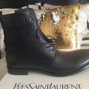 Genuine Yves Saint Laurent Men Boots